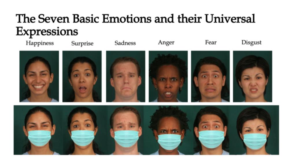masks and emotion recognition