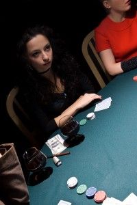 Girl Playing Poker - Russians: A Natural Poker Face - Humintell