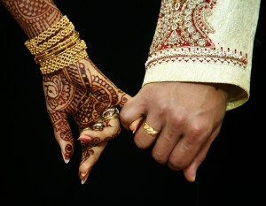 71 wedding hands - india